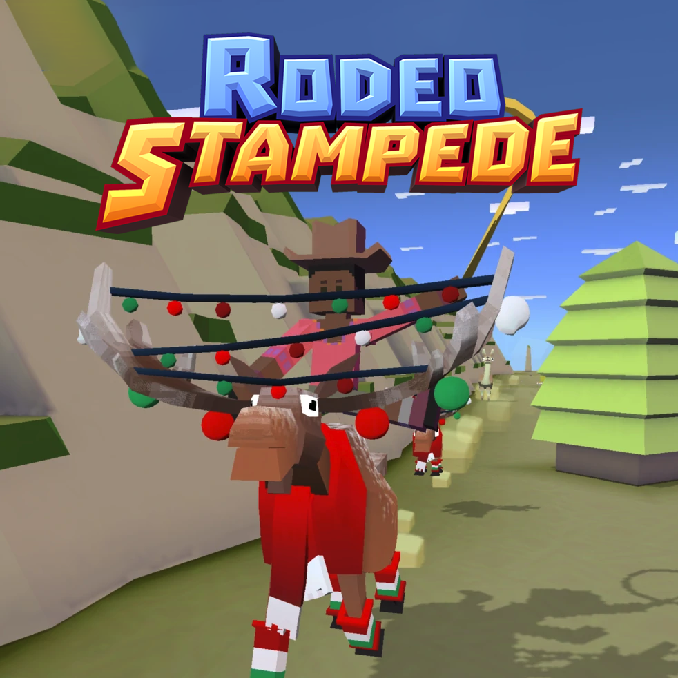 Rodeo Stampede Mountains